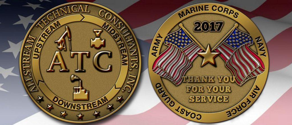 ATC Military Coin